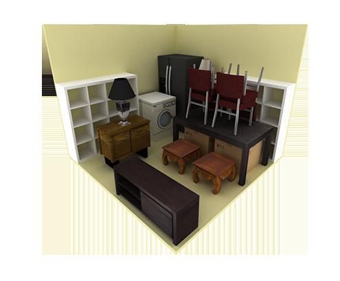 10x10 Storage Unit