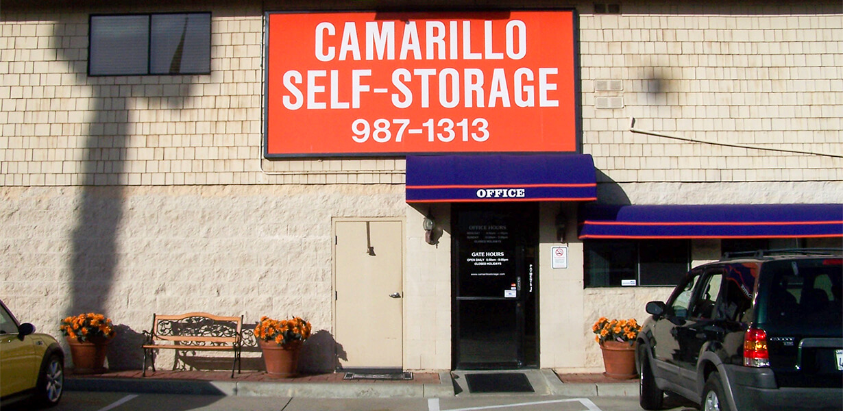 Front view of Camarillo Self Storage